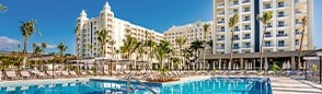 Receive an instant credit to Krystal Grand Punta Cancun in Mexico.
