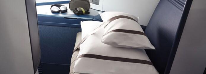 Himmlische Bettwäsche eines Sitzplatzes