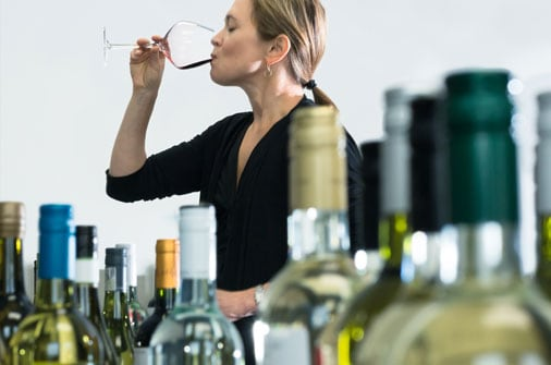 Sommelier Andrea Robinson