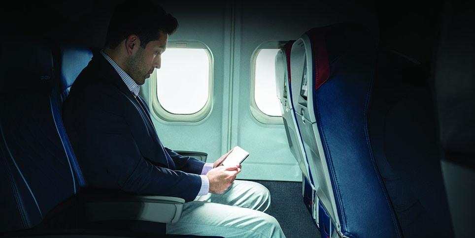 Resultado de imagem para delta airlines wifi