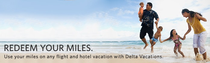 miles to go delta vacations