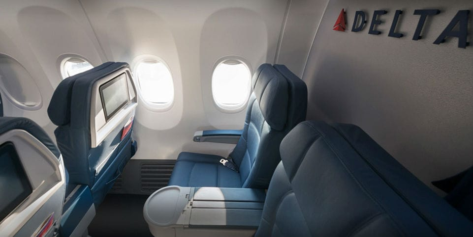 First Business Class Delta Air Lines
