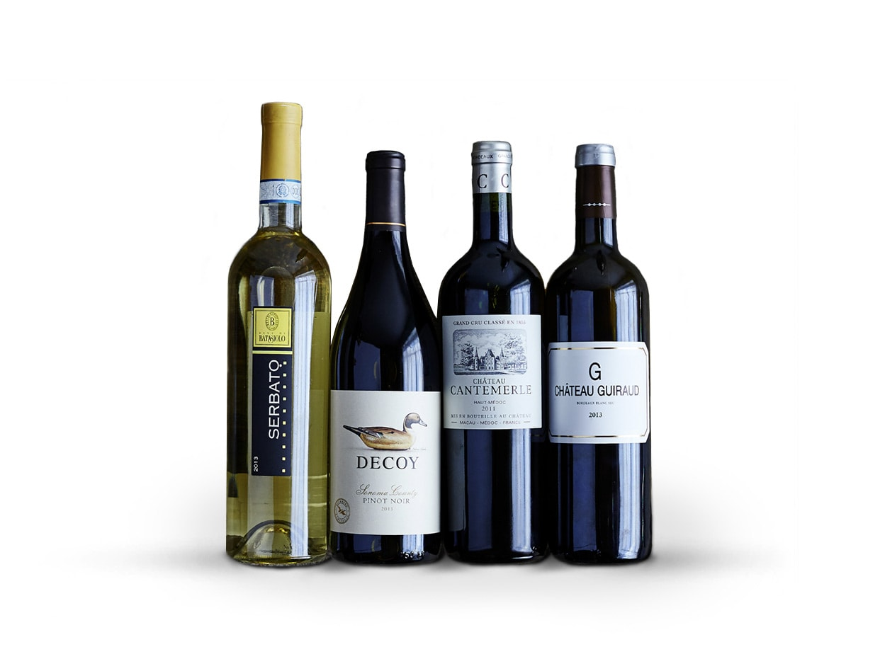 Assortment of Wines