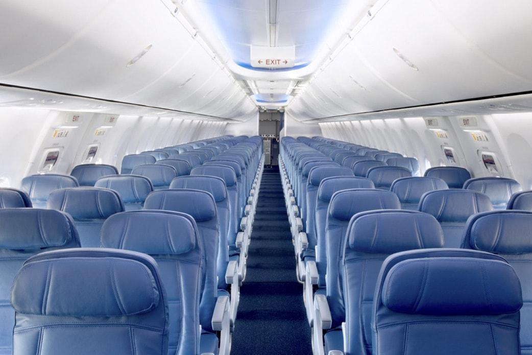 Vuelos en clase turista cabina principal delta air lines for Cabina principale delta