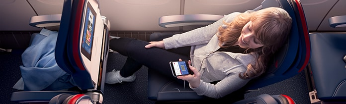 Delta In-Flight Wi-Fi : Delta Air Lines