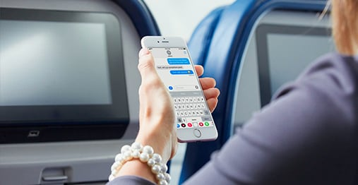Free Messaging: Delta Air Lines