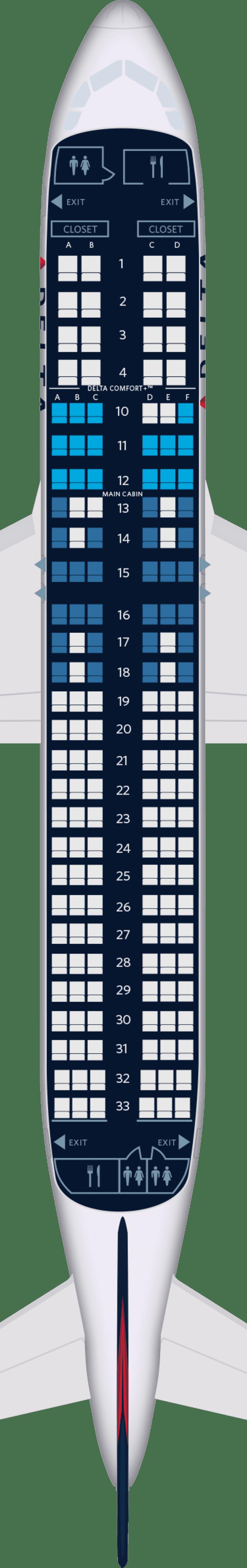 Airbus A320 Aircraft Seat Maps  Specs  U0026 Amenities