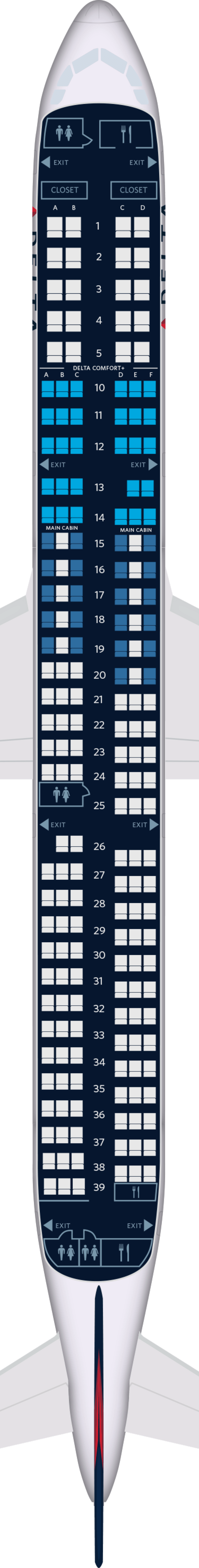 Airbus A321 Aircraft Seat Maps, Specs & Amenities