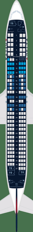 Boeing 737 900 Er Aircraft Seat Maps Specs Amenities
