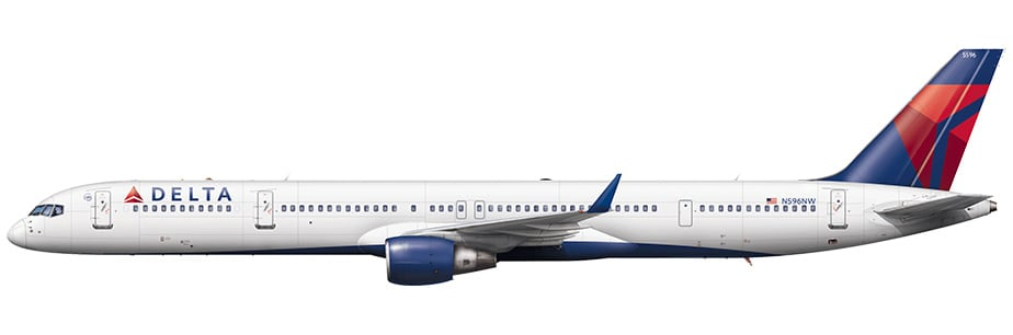 Boeing 757 300 Aircraft Seat Maps Specs Amenities Delta Air Lines