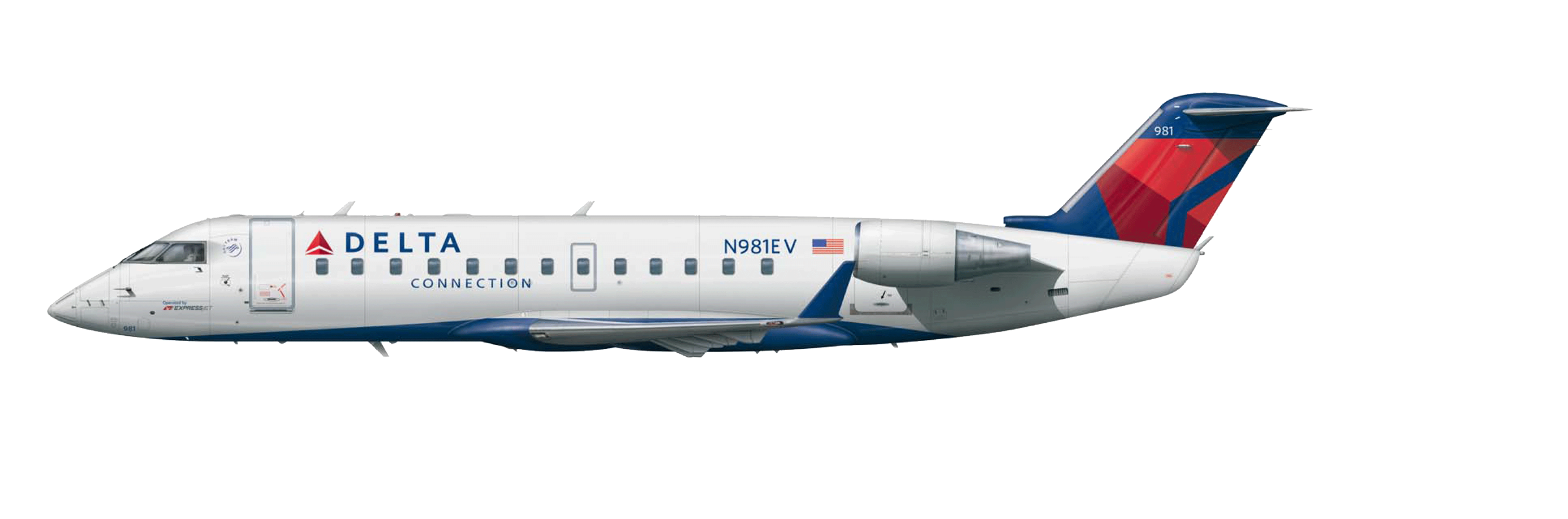 Bombardier CRJ-200 Aircraft Seat Maps, Specs & Amenities