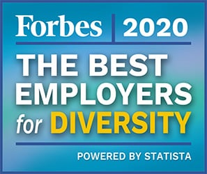 Forbes The Best Employers for Diversity 2020